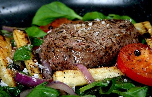 gemarineerde bieflappen rundvleespakket