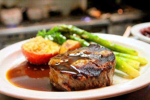 vleespakketten van rundvlees