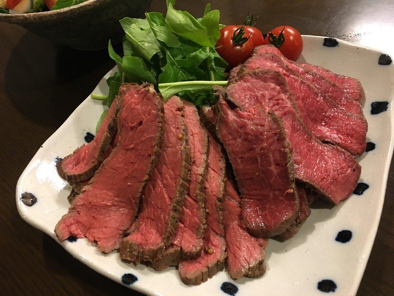 Rosbief recept met rundvlees